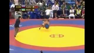 Борьба   Кудухов трёхкратный чемпион!!!