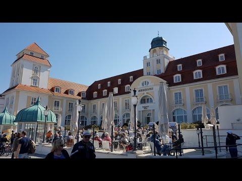 Insel Rügen: Ostseebad Binz und Sandskulpturen Festival 2016 (in 4K)
