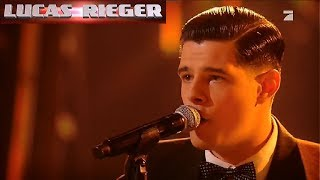 Lucas Rieger || Elvis Presley - Heartbreak Hotel || The Voice 2019 SingOffs (Germany)
