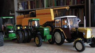 Moja kolekcja modeli ciągników Traktorów - COLLECTION MODELS [FULL HD]