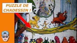 JE RECOIS UN PUZZLE DE CHADESSIN !!!