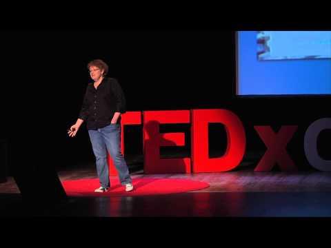 """""""Run, hide, or say thank you: when faced with feedback, what do you do?"""" Joy Mayer at TEDxCoMo"""