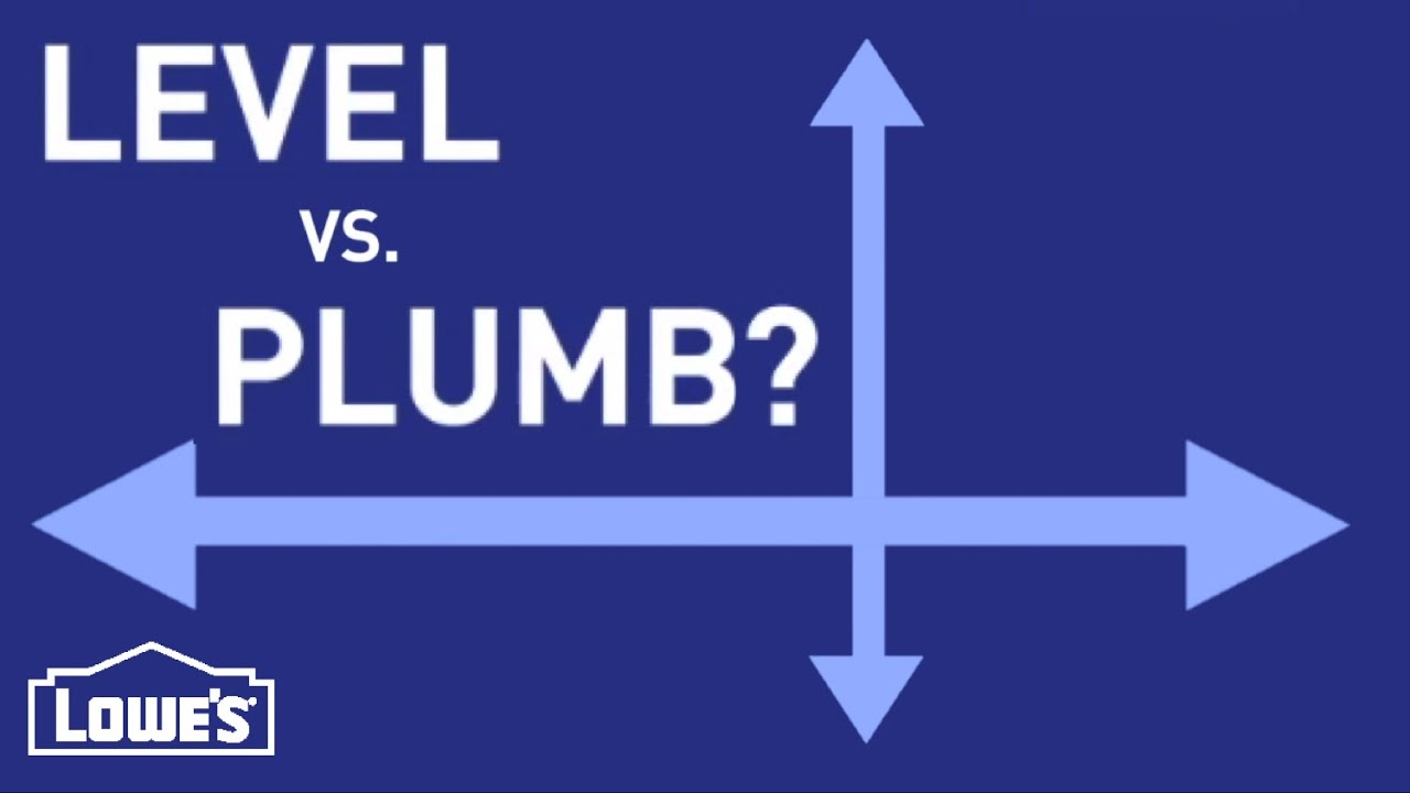 What Do Level and Plumb Mean? | DIY Basics