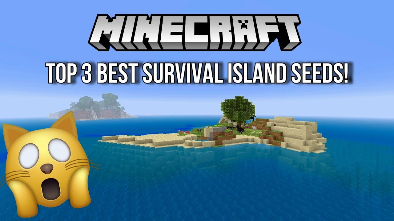 minecraft ps4 survival island seed august 2018