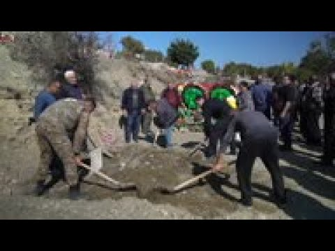 Armenian Soldier Killed In Conflict Buried In Stepanakert