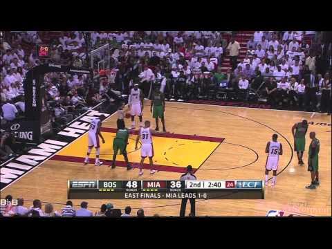 NBA Playoffs 2012 - Rajon Rondo 44 points, 8 rebounds & 10 assists @Miami in Game 2
