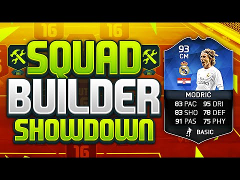 FIFA 16 SQUAD BUILDER SHOWDOWN!!! TEAM OF THE YEAR MODRIC!!! TOTY Luka Modric Squad Builder Duel