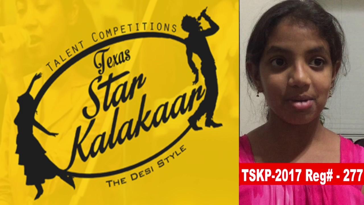 Reg# TSK2017P277 - Texas Star Kalakaar 2017