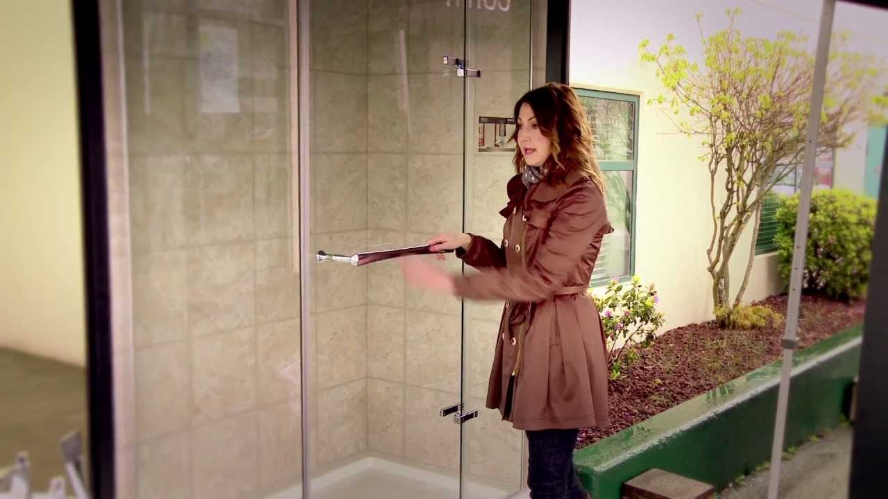 Reveal Shower Door -- MAAX Bath Inc - YouTube