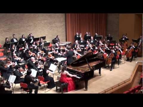 Diana Brekalo performing S.  Prokofiev  Piano Concerto No 2, 1st movement (excerpt)