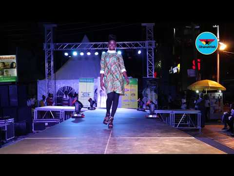 Miss Ghana Street Fashion Show - Highlights