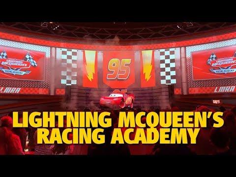 Lightning Mcqueen S Racing Academy Disney S Hollywood Studios Youtube
