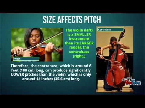 What is pitch in music?