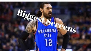 NBA biggest Screens/ HOF Brick Wall