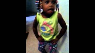 Princess dancing to shake it like a red nose