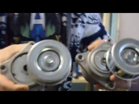 Запчасти. Оригинал или Дубликат? Обзор натяжных роликов QR20DE и Колодок Nissan SUNNY.