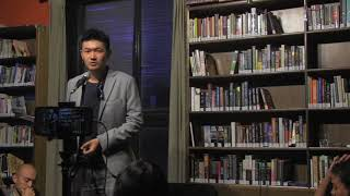 "Anthony Tao reads ""That Absent Person,"" a poem for Liu Xia, at The Bookworm, Beijing"