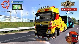 Euro Truck Simulator 2 (1.35)   Mercedes Actros MP4 Cranetruck 1.35.x DX11 Actros Tuning Pack Compatible Liege to Bruxelles Belgio Loads Pack for Crane Trucks 1.35.x DX11 + DLC's & Mods https://sharemods.com/nyhcz7wwee5p/ETS2_1.35_Mercedes_Actros_MP4_Cran