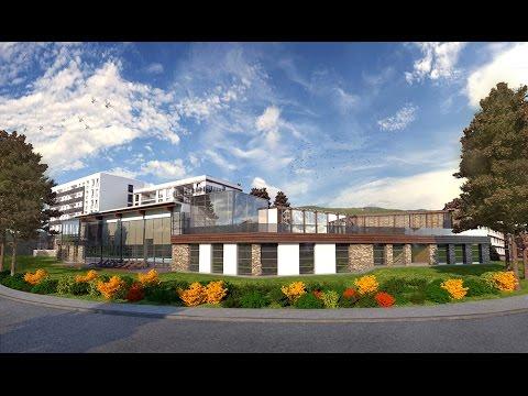 3D ARCHITECTURAL ANIMATION -  WALKTHROUGH - HOTEL SPA CENTER