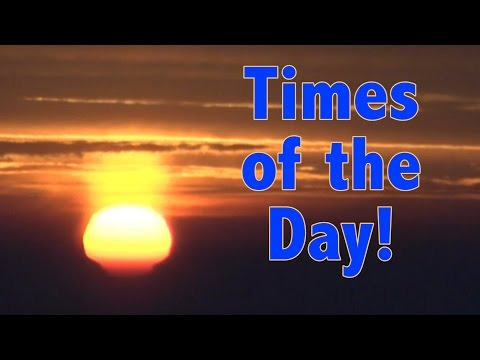 Times of Day in Chinese   Learn Chinese Now