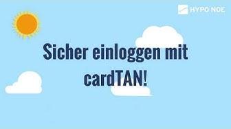 cardTAN - Noch sicherer Login ins Internetbanking