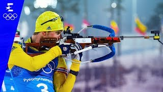 Biathlon | Men's 4x7.5km Relay Highlights | Pyeongchang 2018 | Eurosport