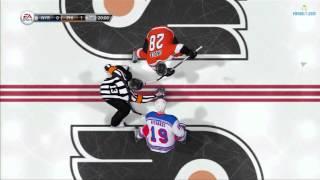 NHL 13: Online Versus Gameplay Video - Flyers vs Rangers
