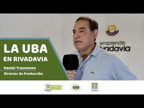 Estudiá Agronomía en Rivadavia 🌾📚 👉🏻 Daniel Trasmonte (Director de Producción)
