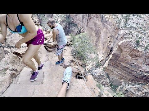 Angels Landing Americas Deadliest Trails Zion National Park