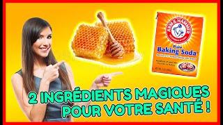 incroyable:si vous mélangez le miel et le bicarbonate vous serez tres surpris!