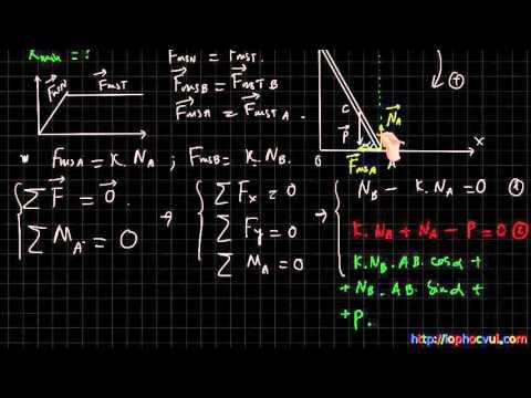 [Vật lí 10 cơ bản và nâng cao] Giải bài tập trắc nghiệm Tĩnh học vật rắn cực hay- Phần 3