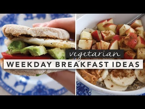 Easy Vegetarian Breakfast Ideas from Monday Through Friday | by Erin Elizabeth