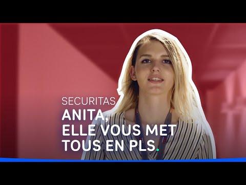 Métiers de la sécurité - Témoignage d'Anita, apprentie formation sécurité #shorts