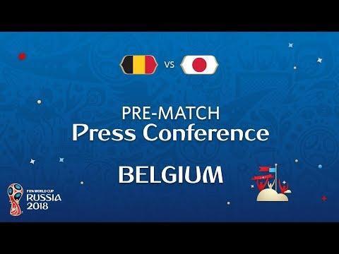 2018 FIFA World Cup Russia™ - BEL vs JPN : Belgium Pre-Match Press Conference
