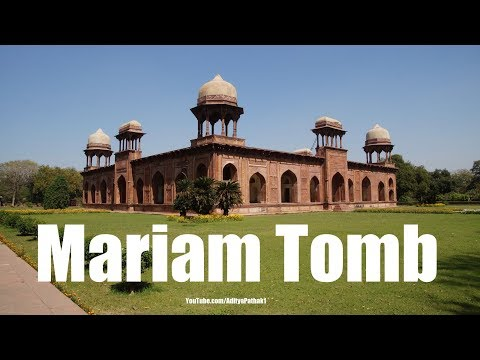 Tomb of Mariam Zamani (Jodhabai / Harkha Bai / Heer Kunwari) : Heritage Tour at Agra Part 8