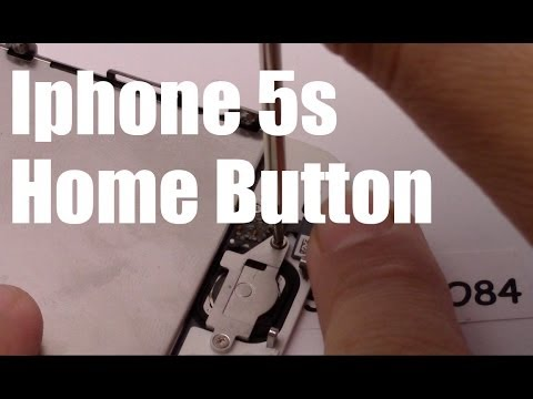 iphone 5s home button replacement sostituzione tasto home iphone 5s home button replacement 4265