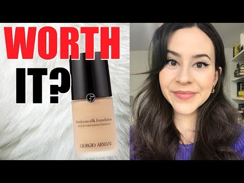 Giorgio Armani Luminous Silk Foundation Review || Testing Best Selling Foundations at Sephora Series thumbnail