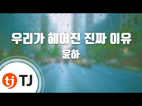 The Real Reason Why We Broke Up 우리가헤어진진짜이유_Younha 윤하_TJ노래방 (Karaoke/lyrics/romanization/KOREAN)
