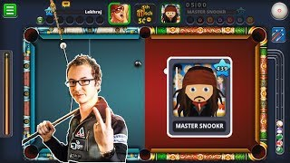 Florian Venom Spotted || Met Master Snookr Level 439 || MY SIGNATURE SHOT TUTORIAL || 8 Ball Pool