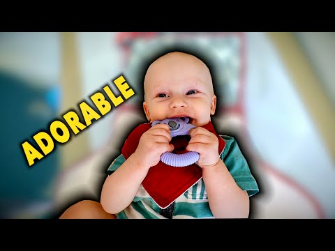 7 MONTH WELL BABY CHECK (Adorable Little Guy) | Dr. Paul