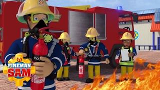 Fireman Sam New Episodes 2016 - Stay Safe with fireman Sam 🚒 Fireman Cartoon