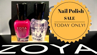 Zoya Professional Nail Polish 12 for  20.00 with 2 free gifts!!