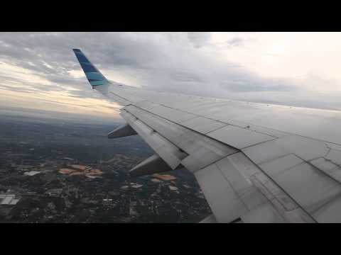 Garuda Indonesia B738  Takeoff From Sultan Syarif Kasim II Airport In Pekanbaru