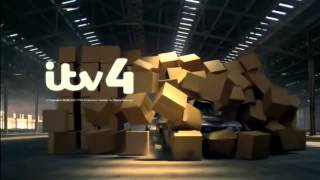 ITV4 Ident 2013 - Cardboard Boxes