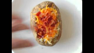 Меню на завтрак! Запеченный картофель