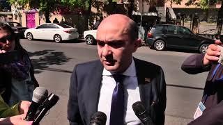 «Տեղեկություն ունեմ, որ բոլոր հանրապետականներն այստեղ են և նիստը գումարվելու է». Մարուքյան