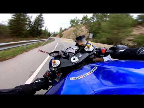 The Pure Sound Of Yamaha R6 With Quickshifter