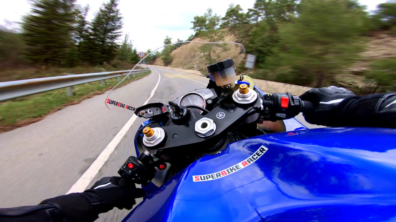 Download The Pure Sound Of Yamaha R6 With Quickshifter