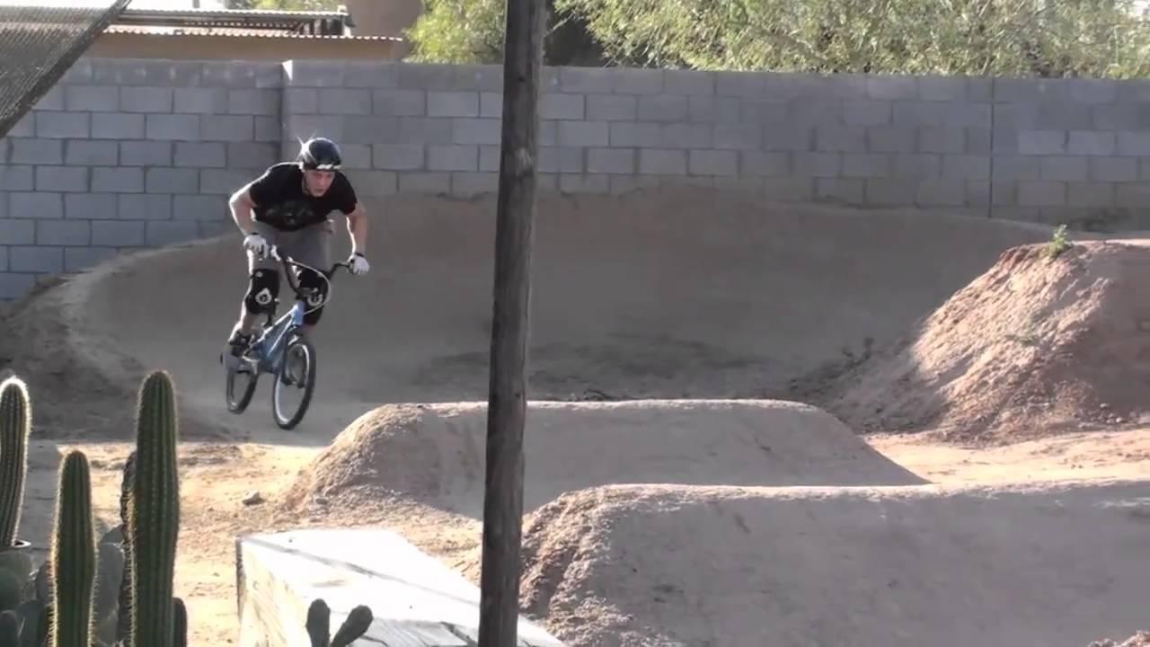 backyard pumptrack 2.0 - YouTube