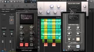 Waves SSL G vs NI vs UAD - BUS Comp Comparison - On Hip hop.